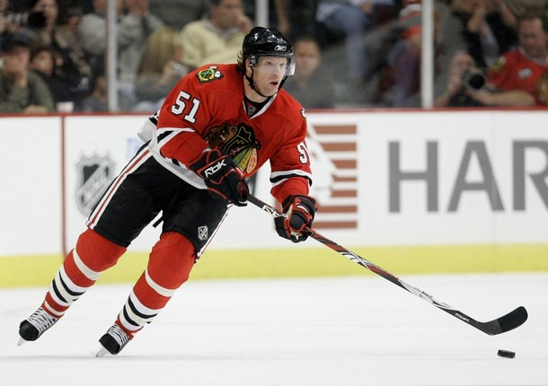 Brian Campbell will play next to Duncan Keith in the absence of Brent Seabook Saturday night.