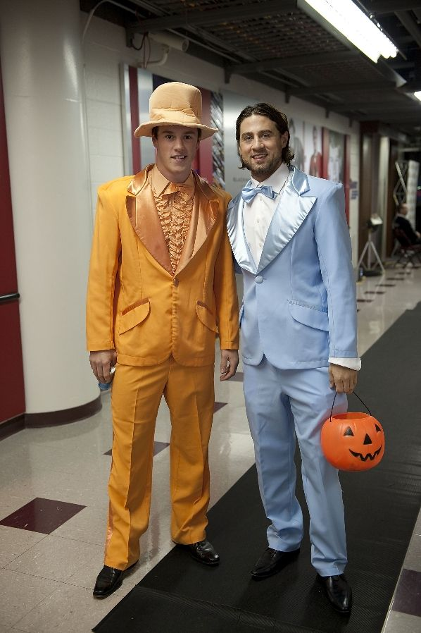 Jonathan Toews and Adam Burish... Yeah...