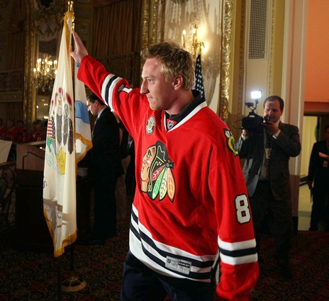 Marian Hossa won't be in street clothes on Wednesday.