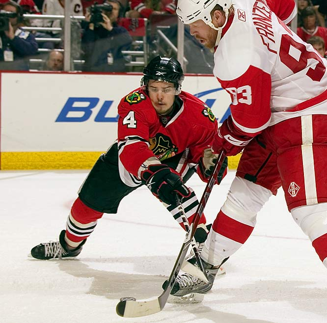 Niklas Hjalmarsson has been outstanding so far this year.