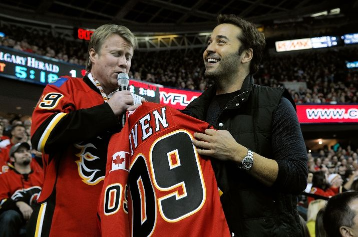 "Traitor or publicity whore? Piven might have ""The Goods,"" but it didn't help the Flames."