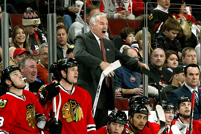 Coach Joel Quenneville is still trying to find the right offensive mix in December.