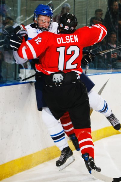 Dylan Olsen is one of the Hawks' top prospects.