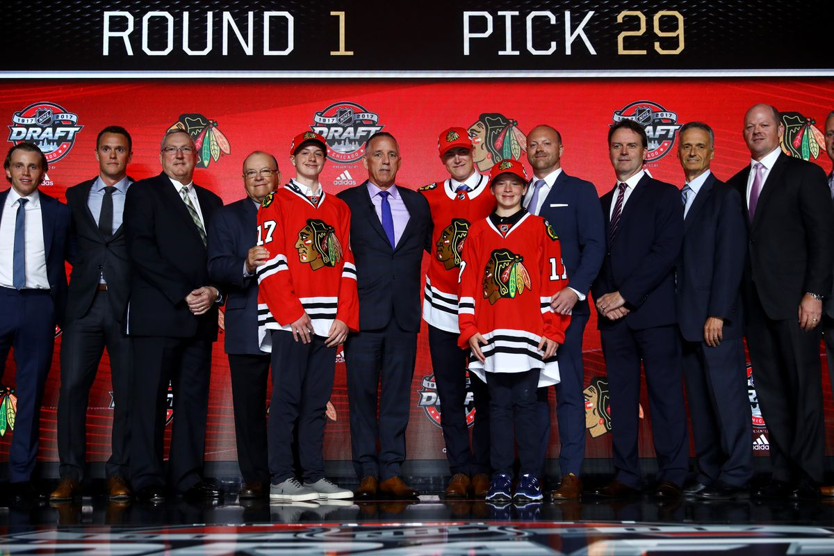 Chicago Blackhawks Draft History | Committed Indians