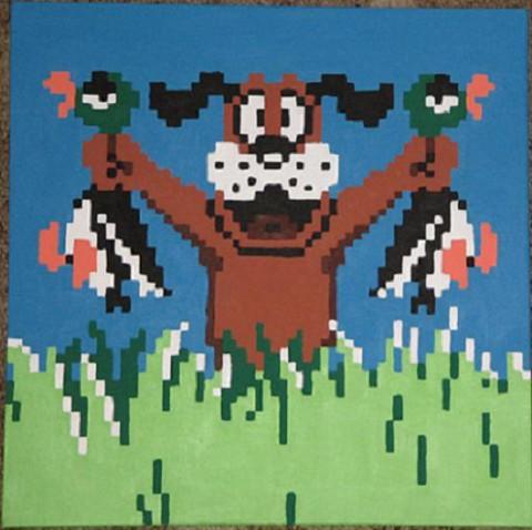 The Blackhawks were duck hunting on Sunday night.