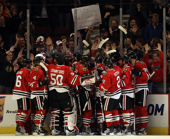 Hawks celebrate StL