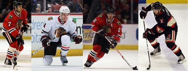Blackhawks blue line