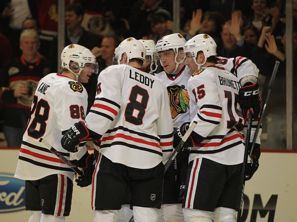 Blackhawks white