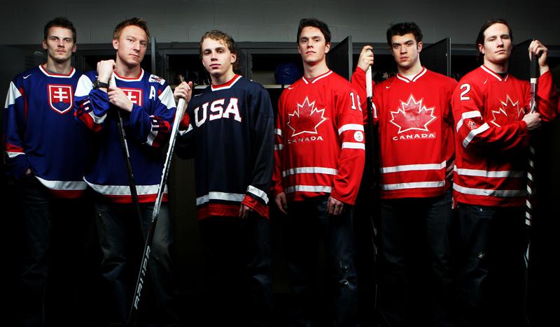 Blackhawks Olympians