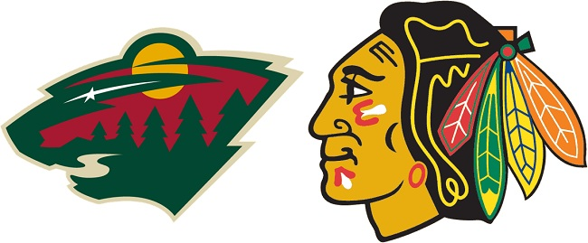 Blackhawks v Wild