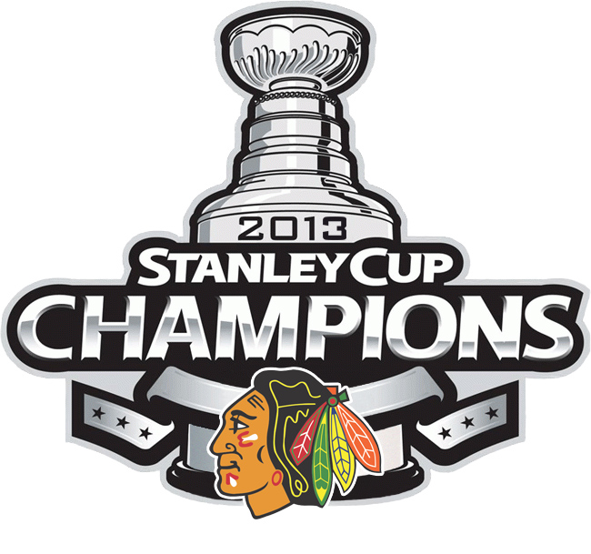 Chicago Blackhawks Stanley Cup Championship Primary Logo 2013