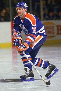 Glenn Anderson On The Ice