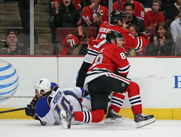Kane hurt STL
