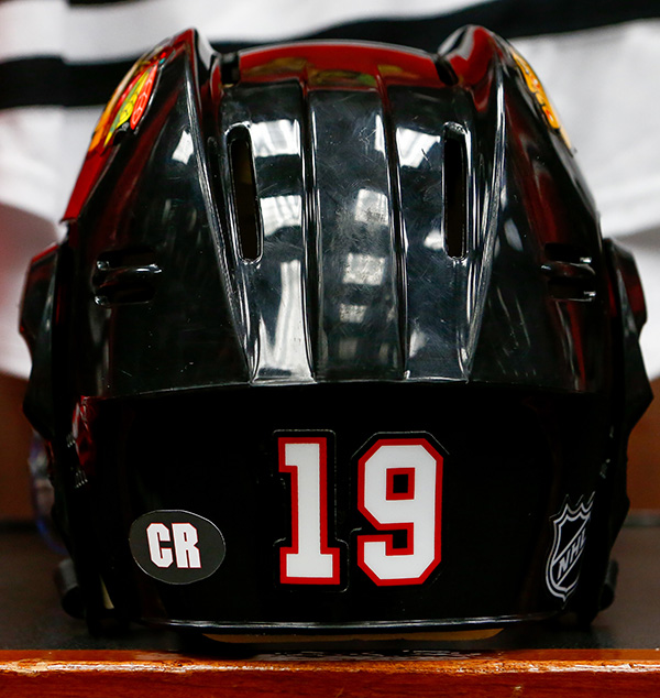 Clint Reif helmet decal