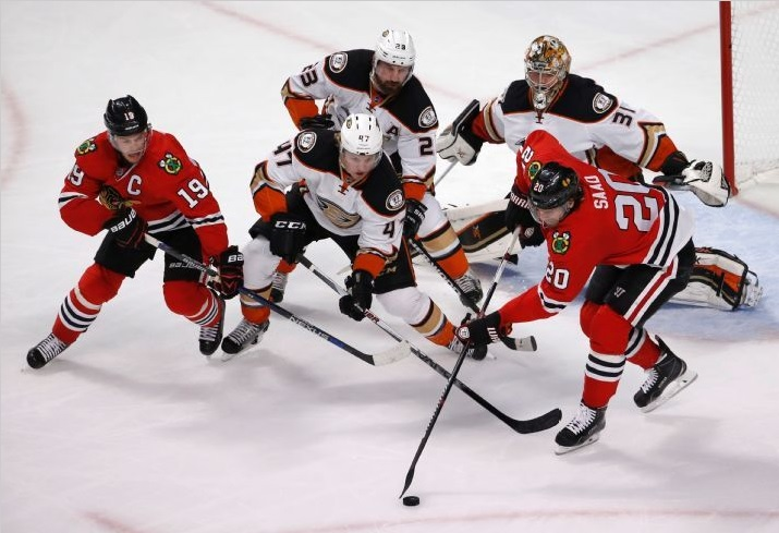 a51376924 One Goal: Not Enough. Blackhawks Lose Game 3 At Home   Committed Indians