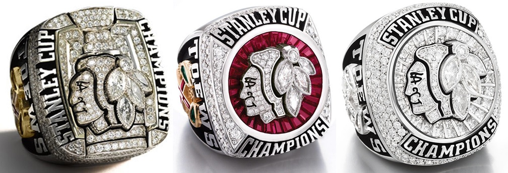 Blackhawks rings