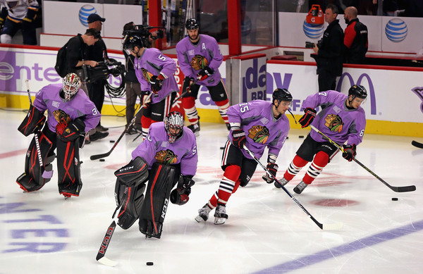Blackhawks Hockey Fights Cancer