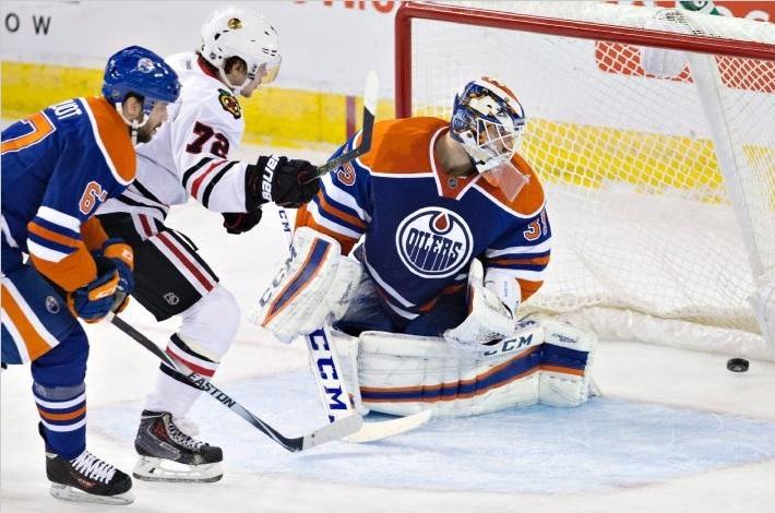 Panarin Edm Marian Hossa Blackhawks Beat Oilers Ot Committed Indians