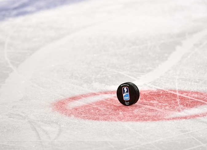 IIHF puck