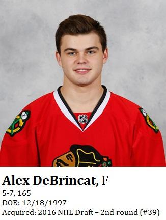 Alex DeBrincat bio