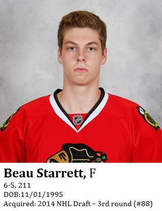 Beau Starrett bio