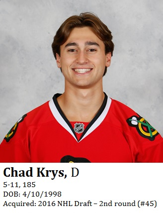 Chad Krys bio