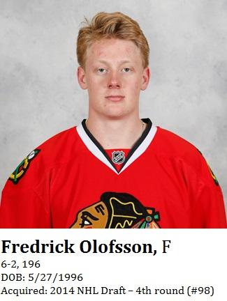 Fredrick Olofsson bio