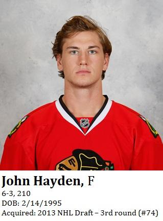 John Hayden bio