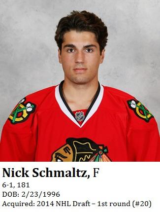 Nick Schmaltz bio