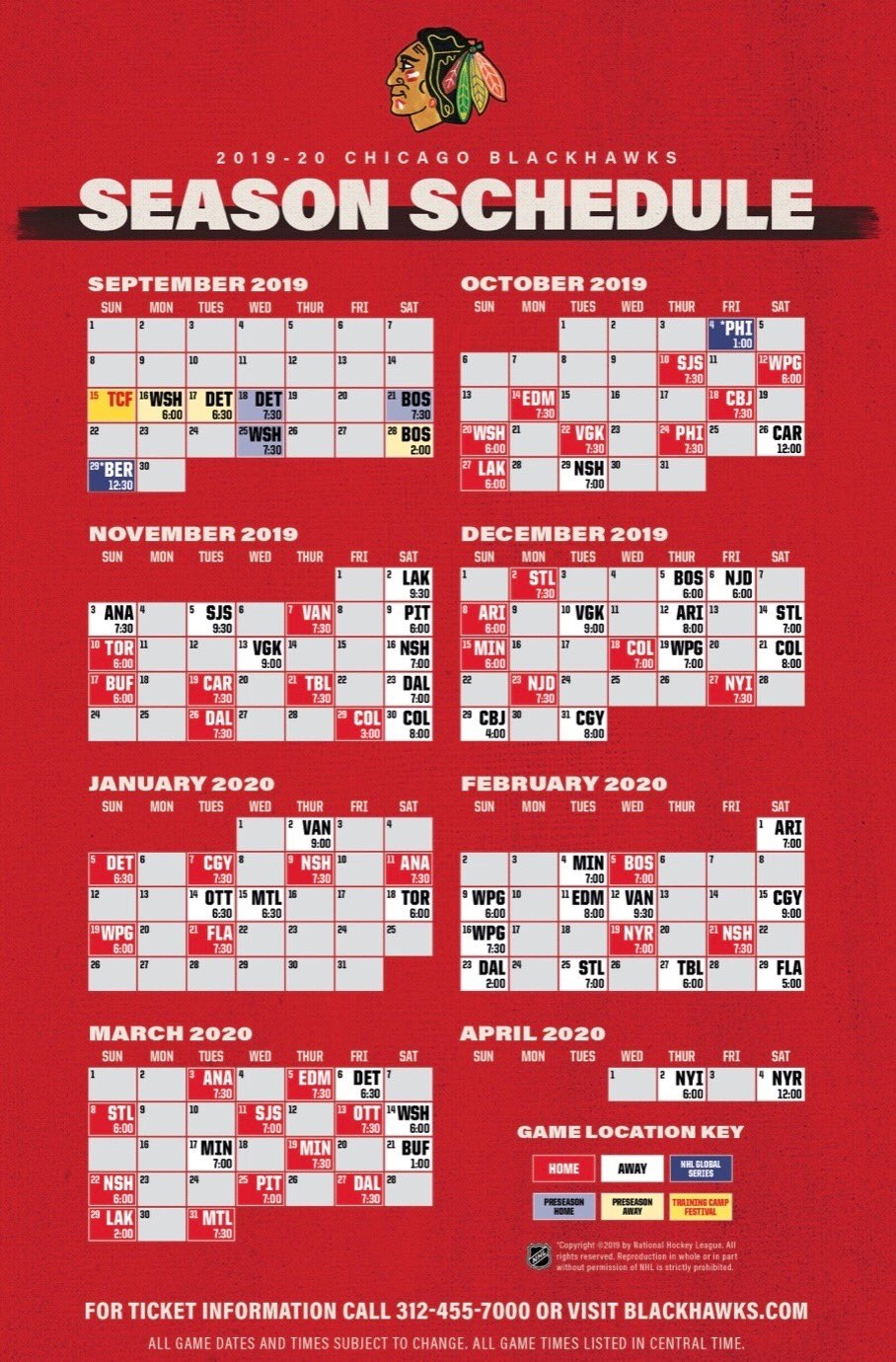 photograph regarding Indians Schedule Printable referred to as nhl blackhawks agenda
