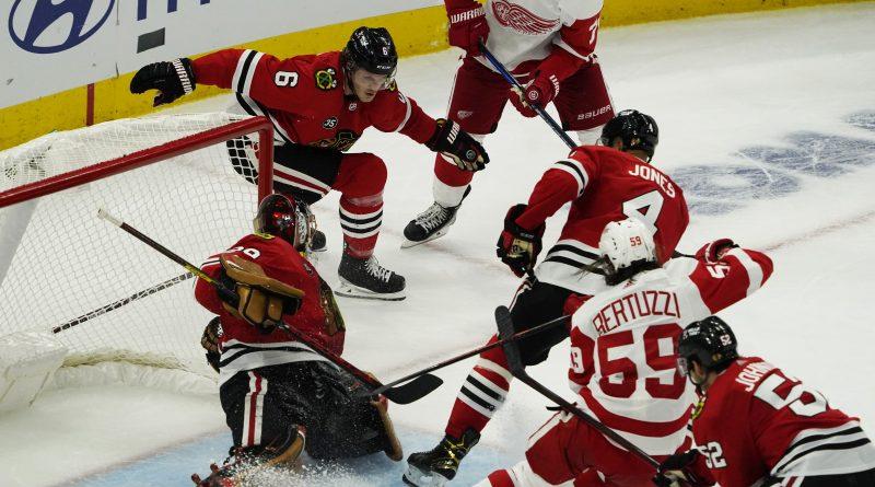 Blackhawks Red Wings